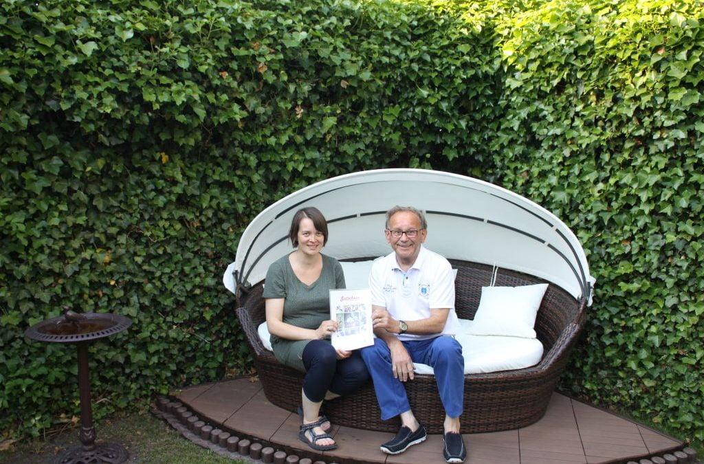 Gutschein für Schnuppertraining bei Ruppelt wurde übergeben